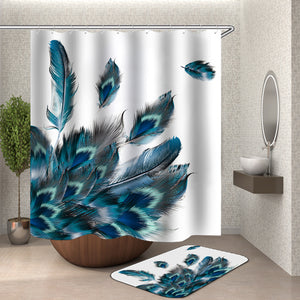 Peacock Feathers Shower Curtain