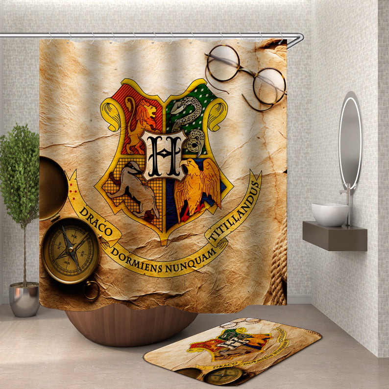 Harry Potter Logo Shower Curtain