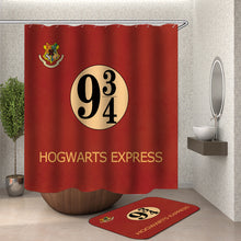 Load image into Gallery viewer, Harry Potter Hogwarts Express Shower Curtain
