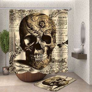 Vintage Skeleton Shower Curtain