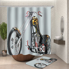 Load image into Gallery viewer, Motorcycle Shower Curtain