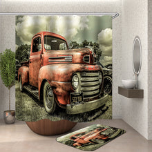 Load image into Gallery viewer, Old Tractor Shower Curtain