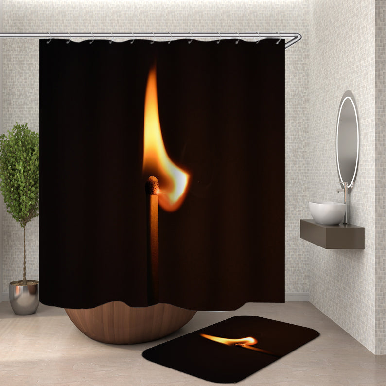 Match Light Shower Curtain