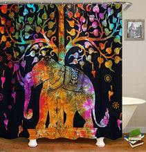 Load image into Gallery viewer, Animal Elephant Shower Curtain
