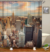 Load image into Gallery viewer, City Building Shower Curtain