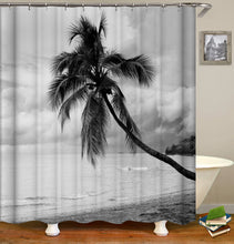 Load image into Gallery viewer, Coconut Tree Shower Curtain