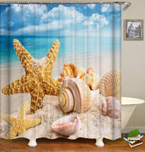 Load image into Gallery viewer, Starfish Shower Curtain