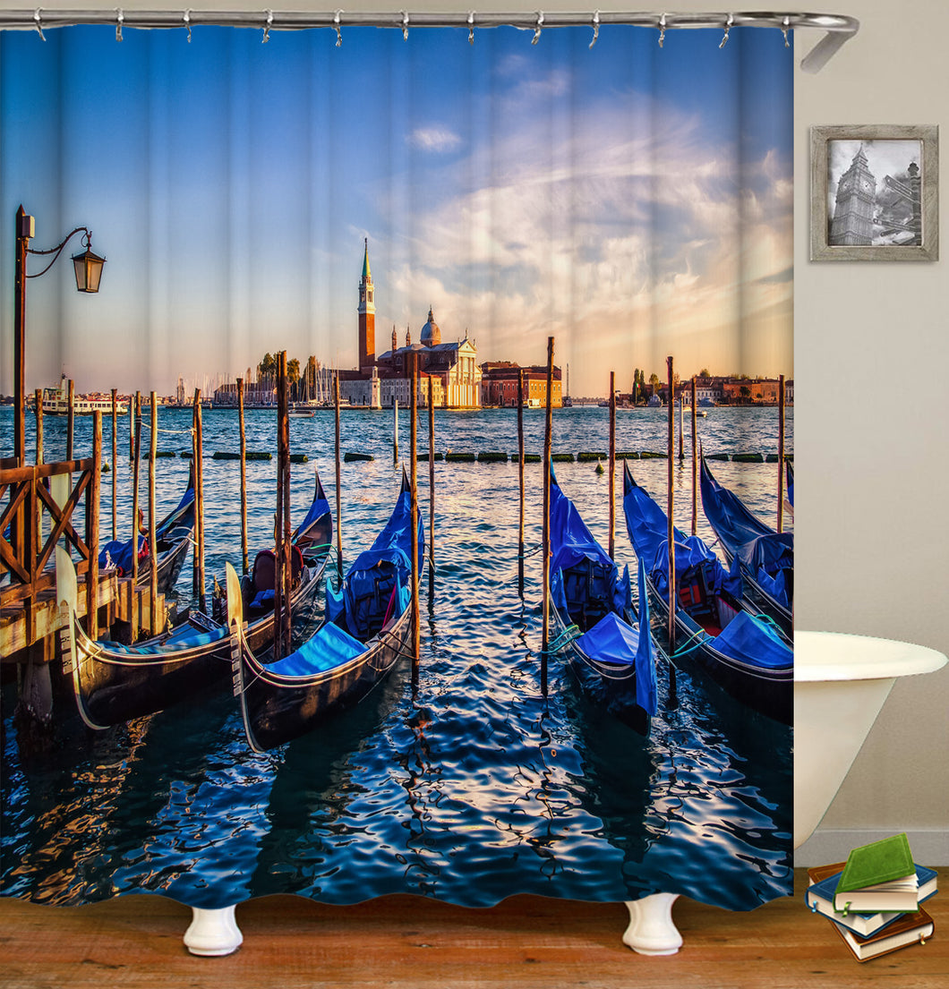 Boat Shower Curtain