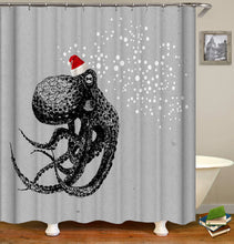 Load image into Gallery viewer, Octopus Shower Curtain