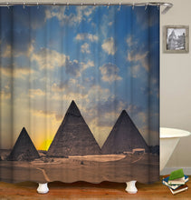 Load image into Gallery viewer, The Pyramid Shower Curtain
