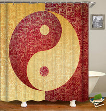 Load image into Gallery viewer, Yin and Yang Shower Curtain