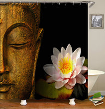 Load image into Gallery viewer, Buddha Shower Curtain