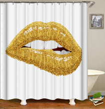 Load image into Gallery viewer, Sexy Lips Shower Curtain