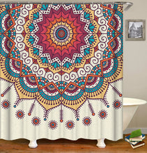 Load image into Gallery viewer, Mandala Bohemian Style Shower Curtain