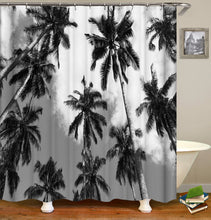 Load image into Gallery viewer, Forest and Trees Shower Curtain