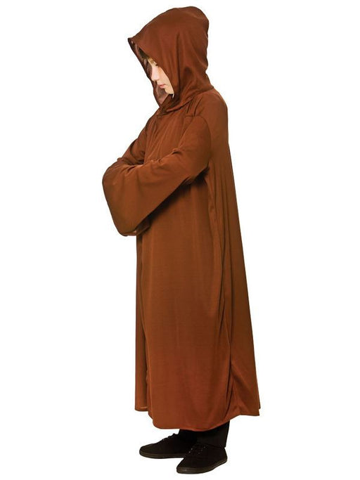 Kids Hooded Robe (Brown)