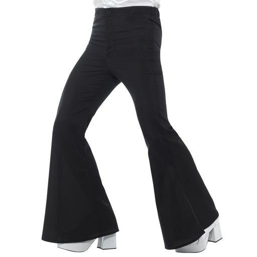 Flared Trousers (Black)