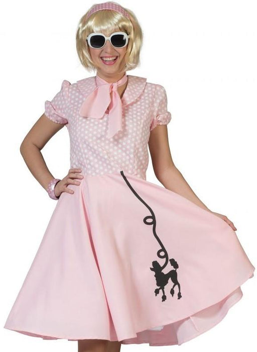 50's Poodle Costume (Pink)