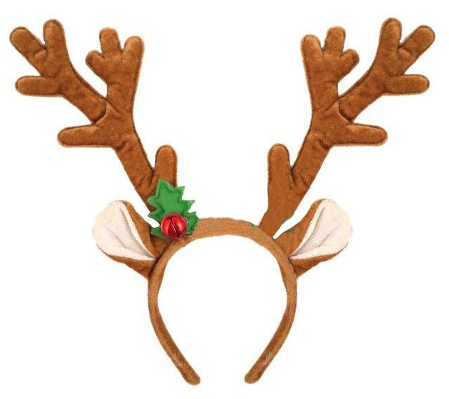 Reindeer Antlers with Bell