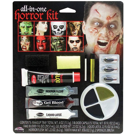 All in One Family Horror Make Up Kit