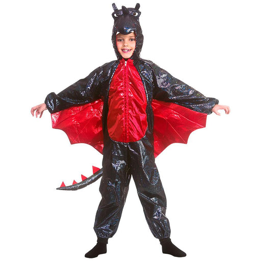 Kids Deluxe Metallic Dragon Costume