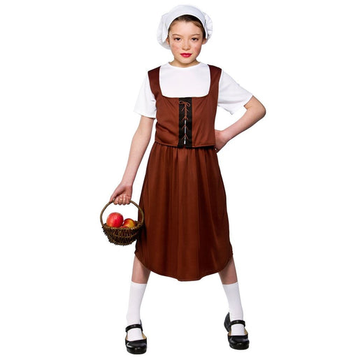 Kids Tudor Girl Costume