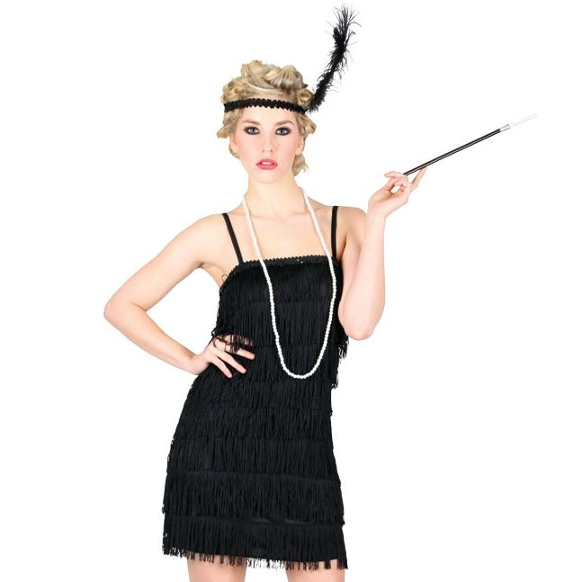 Showtime Flapper Costume (Black)