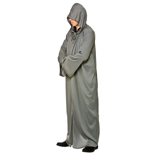 Hooded Robe (Grey)