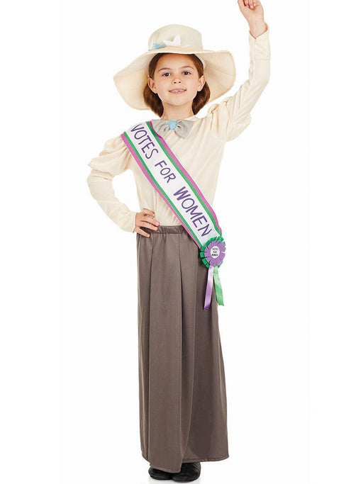 Kids Suffragette Costume