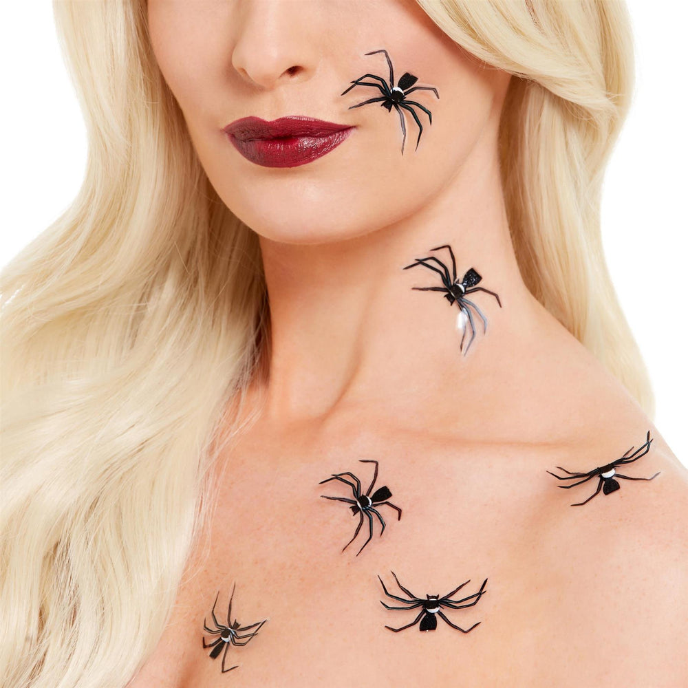 3D Spider Stickers