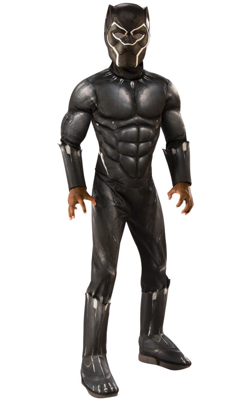 Kids Official Deluxe Black Panther Costume