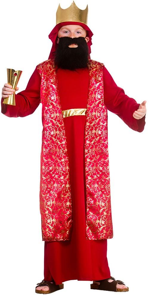 Kids Wise Man Costume (Red)