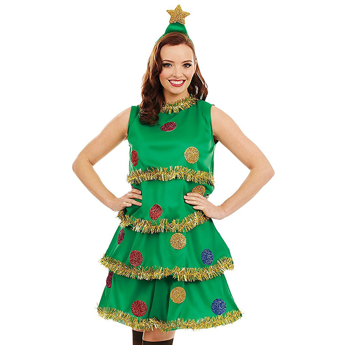 Christmas Tree Lady Costume