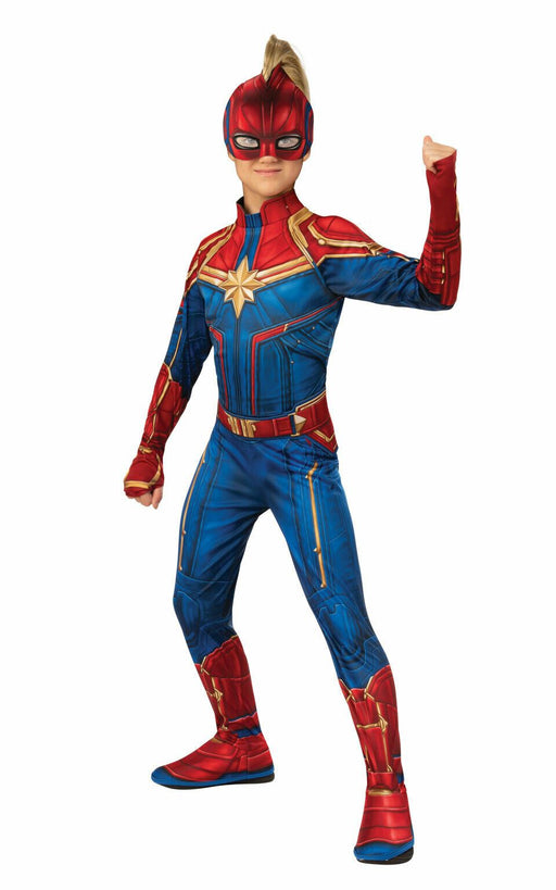 Kids Official Captain Marvel Costume
