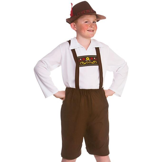 Kids Bavarian Boy Costume
