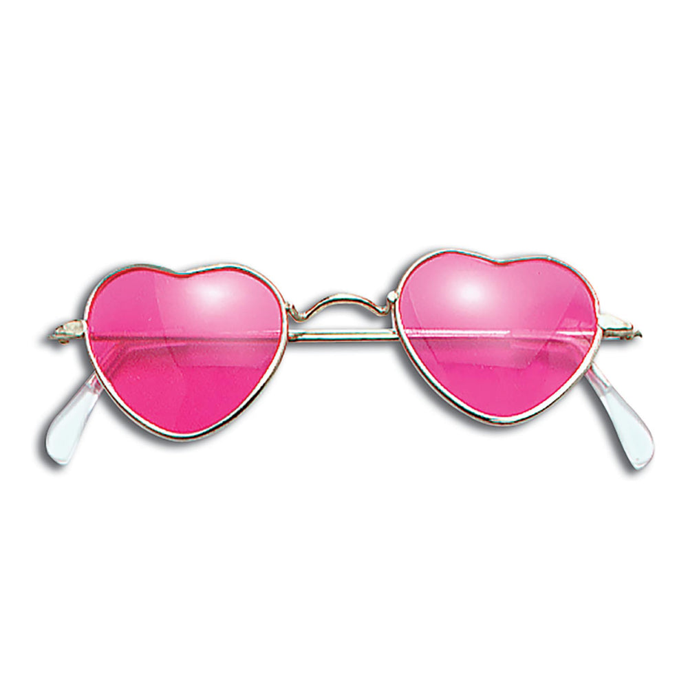 Pink Heart Glasses