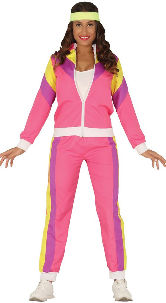 80's Gymnast Lady Costume
