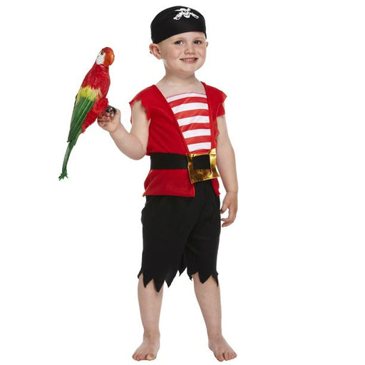 Kids Toddler Pirate Boy Costume