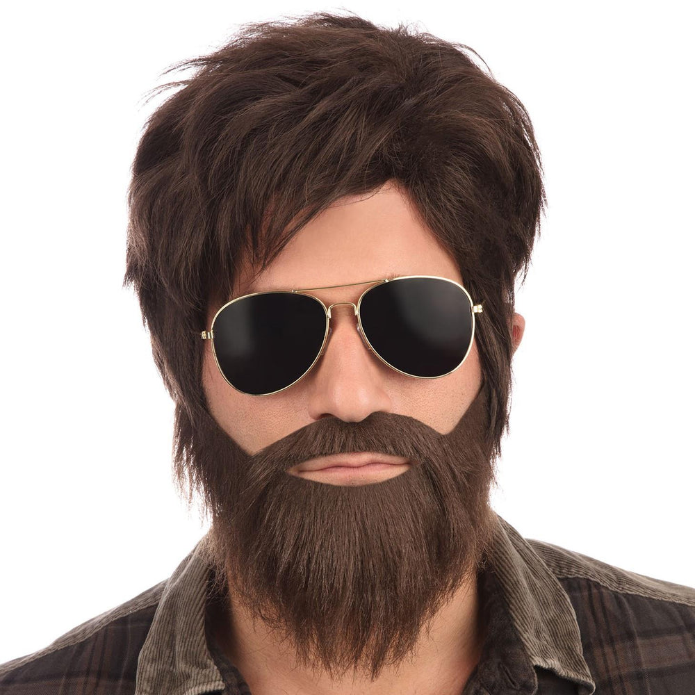 Vegas Wig & Beard Set