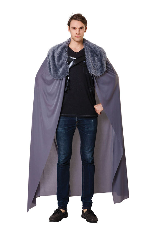 Hooded Cloak (Grey)
