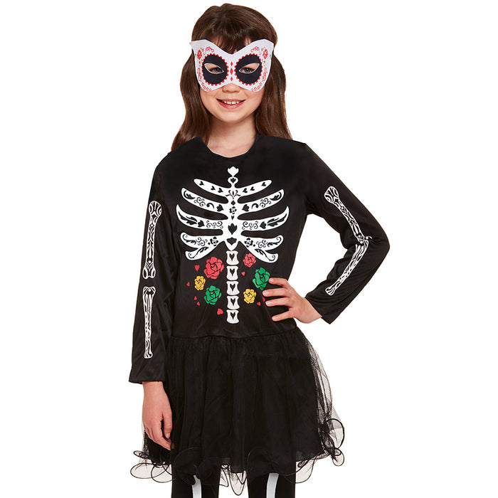 Kids Day of the Dead Skeleton Costume