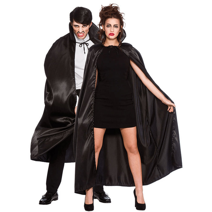 Deluxe Cape with Collar (Black)