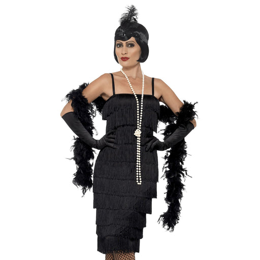 Long Flapper Costume (Black)
