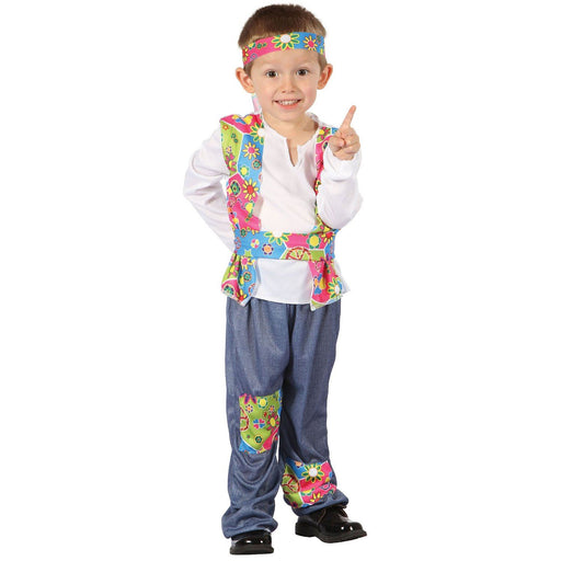 Kids Toddler Hippy Boy Costume