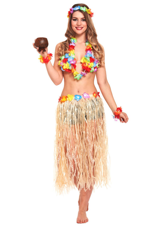 6pc Hawaiian Girl Set