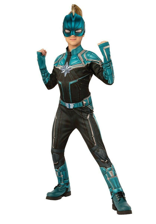 Kids Official Captain Marvel Kree Costume