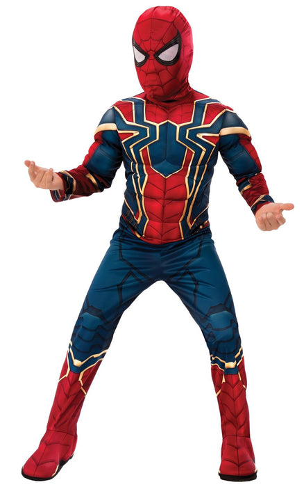 Kids Official Deluxe Iron Spider Costume