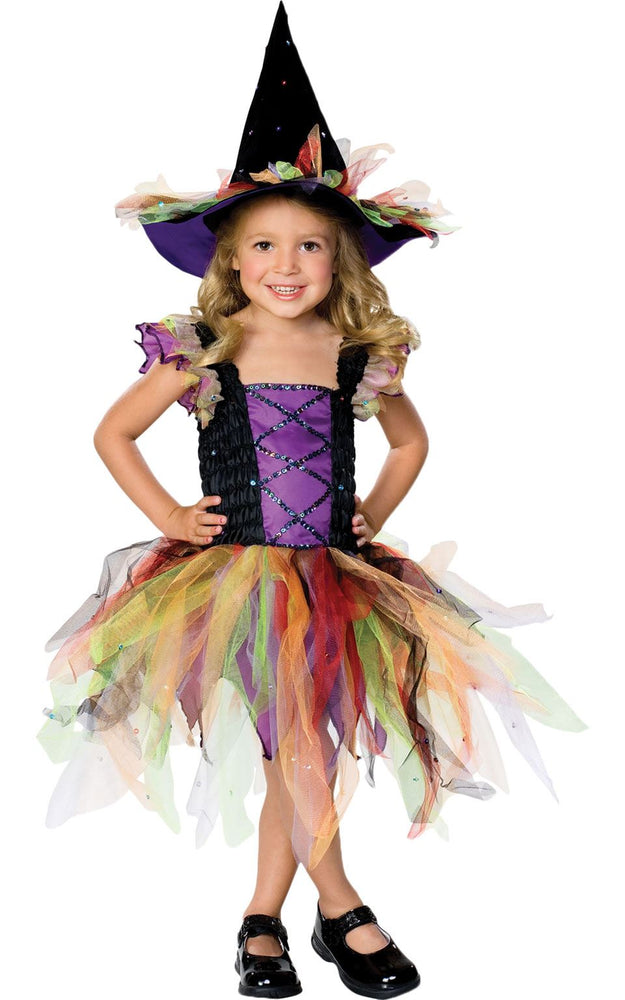 Kids Glitter Witch Costume