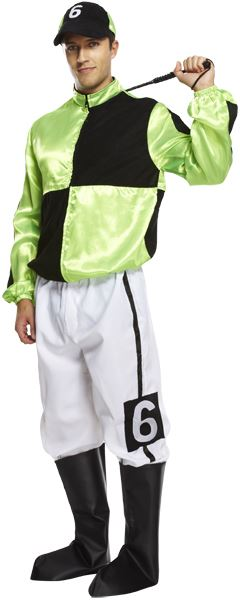 Jockey Costume (Green)