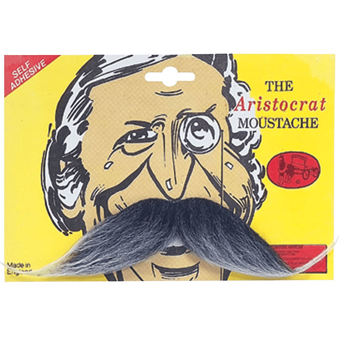 Aristocrat Moustache (Grey)
